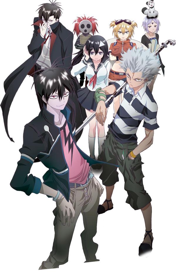 Blood Lad, Brains Base, Yuki Kodama, Shigeyuki Miya, Takeshi Konuta, Kenji Fujisaki, Kenji Fujisaki, Yuuki Hayashi, Actu Japanime, Japanime,