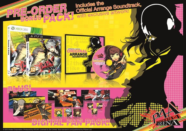 Persona 4 : The Ultimate In Mayonaka Arena, Actu Jeux Video, Jeux Vidéo, Arc System Works, Atlus, Koch Media,