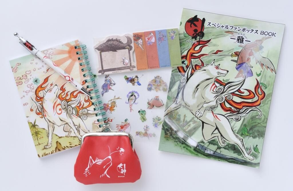 Okami Special Fan Box Book, Okami, Capcom, Actu Jeux Video, Jeux Vidéo, Quenelle
