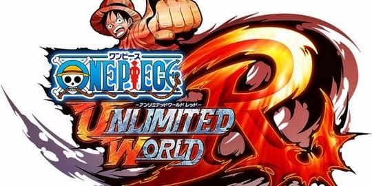 One Piece : Unlimited World R, Actu Jeux Video, Jeux Vidéo, Nintendo 3DS, Nintendo Wii U, Playstation 3, Playstation Vita, Namco Bandai, Ganbarion,