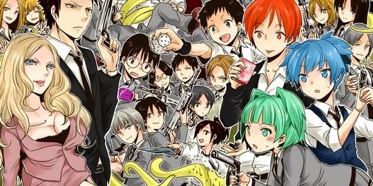 Actu Ciné, Cinéma, Actu Japanime, Japanime, Assassination Classroom, Yusei Matsui, Actu Manga, Manga, Brains Base,