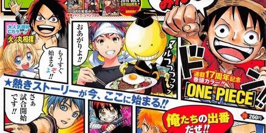 Actu Manga, Manga, Weekly Shonen Jump, Classement, Shueisha, One Piece,