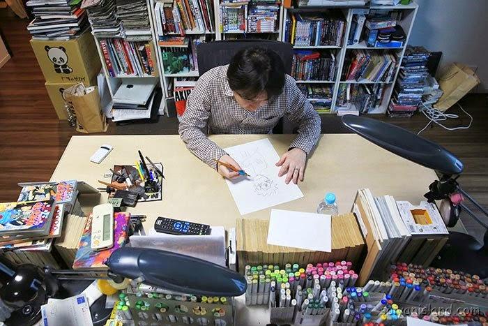 Masashi Kishimoto, Manga, Actu Manga, Naruto, Studio,