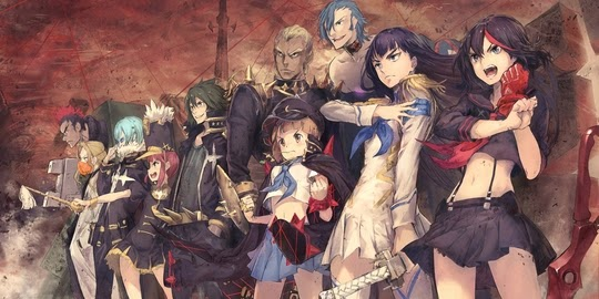Actu Manga, Kana, Kill La Kill, Manga, Ryou Akizuki, Studio Trigger,