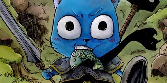 One Shot, Happy le Chat Bleu, Fairy Tail, Manga, Actu Manga, Monthly Fairy Tail Magazine, Hiro Mashima,