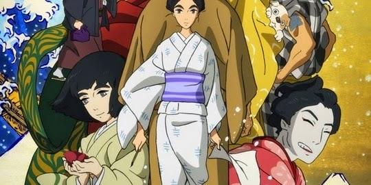 Miss Hokusai, Keiichi Hara, Actu Ciné, Cinéma, Festival International du Film d'Animation d'Annecy 2015, Production IG,