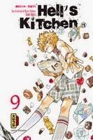 Actu Manga, Critique Manga, Dark Kana, Gumi Amazi, Hell's Kitchen, Kana, Manga, Mitsuru Nishimura,