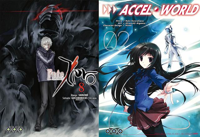 Accel World, Actu Manga, Goodies, Japan Expo 2015, Manga, Ototo, Sword Art Online,