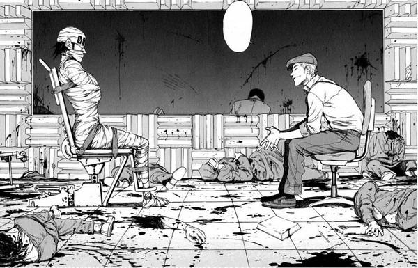 Actu Manga, Ajin, Critique Manga, Glénat, Manga, Seinen,