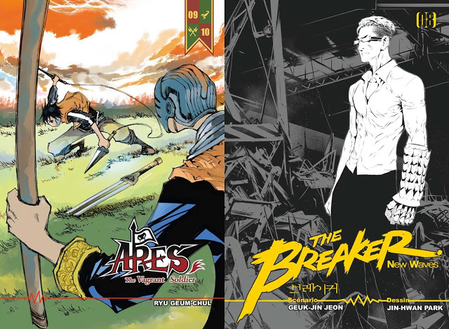 Booken Manga, Ares : The Vagrant Soldier, The Breaker : New Waves, Actu Manhua, Manhua,