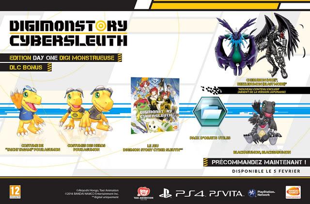 Actu Jeux Vidéo, Bandai Namco Games, Digimon Story : Cyber Sleuth, Jeux Vidéo,
