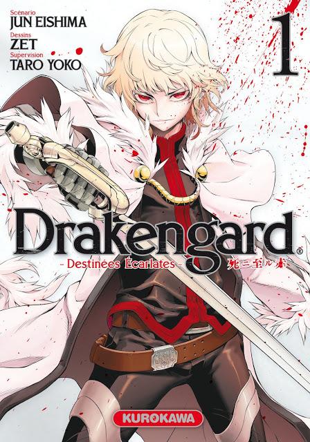 Drakengard - Destinées Écarlates, Kurokawa, Manga, Actu Manga, Jun Eishima, ZET, Yoko Taro,