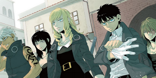 Gangsta Cursed, Manga, Actu Manga, Kohske, Shuhei Kamo, Glénat,