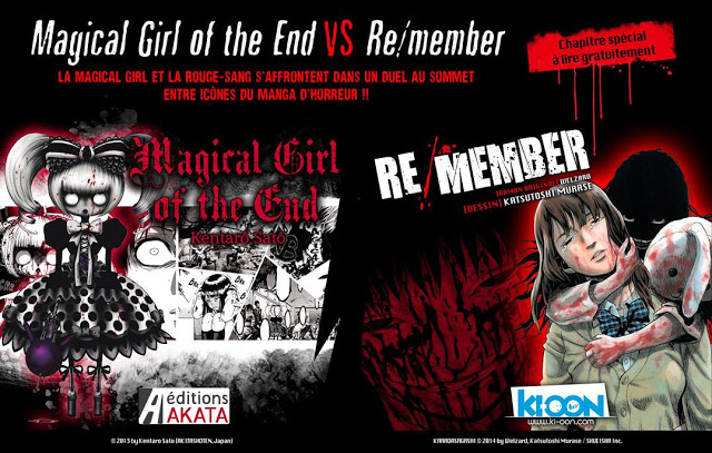 Magical Girl of the End, Re/member, Manga, Actu Manga, Akata, Ki-oon, Welzard, Katsutoshi Murase, Kentarô Satô,