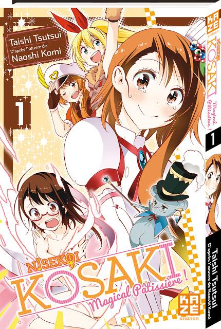 Kosaki - Magical Pâtissière, Kazé Manga, Manga, Actu Manga, Taishi Tsutsui, Shonen Jump +,