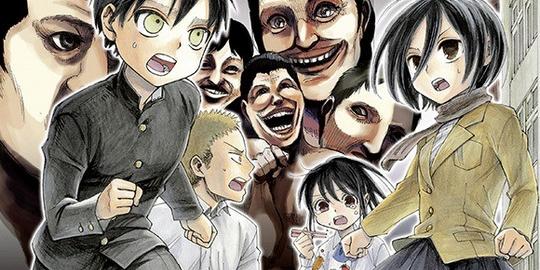 Bessatsu Shonen Magazine, Nakagawa Saki, Manga, Actu Manga, L'Attaque des Titans : Junior High School,