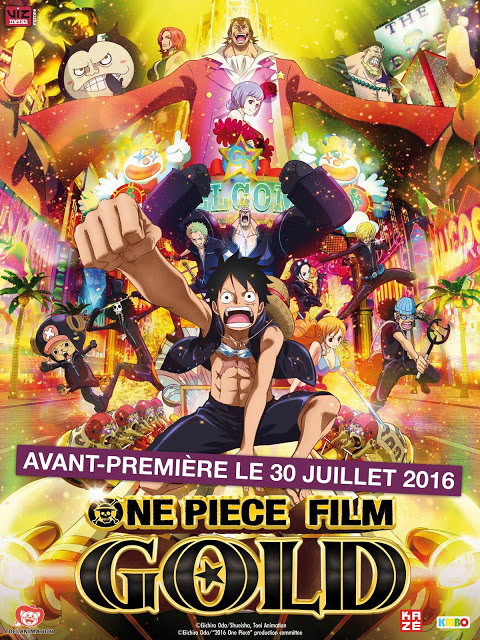 One Piece Gold, Toei Animation, Eiichiro Oda, Actu Ciné, Cinéma,