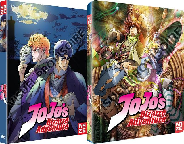 Phantom Blood, Battle Tendency, Jojo's Bizarre Adventure, Actu Japanime, Japanime, Kazé Anime,