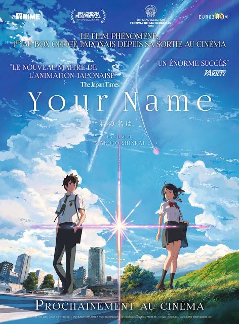 Actu Japanime, Eurozoom, Japanime, Makoto Shinkai, Your Name,