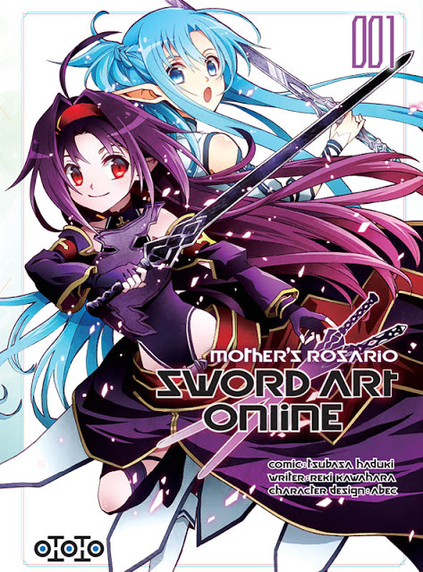 Actu Manga, Manga, Ototo, Reki Kawahara, Sword Art Online, Sword Art Online II : Mother's Rosary,