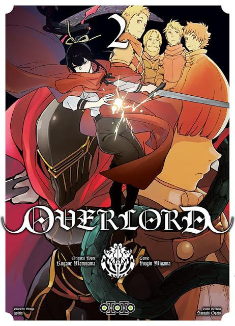 Actu Manga, Manga, Ototo, Overlord, Seinen, Shonen, Sword Art Online II : Mother's Rosary,