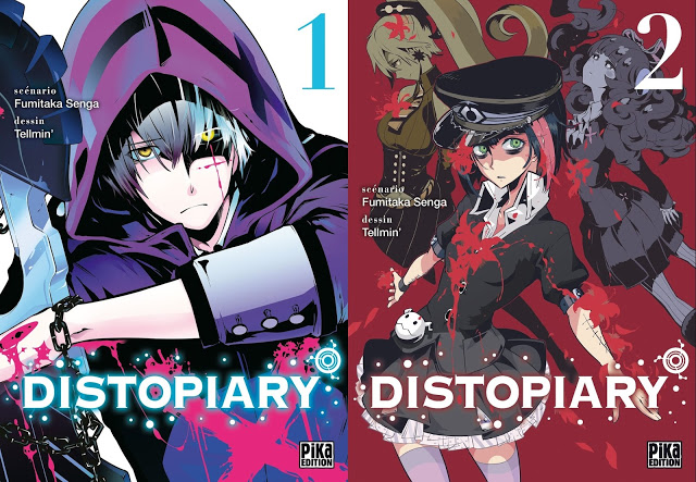 Distopiary, Fumitaka Senga, Tellmin, Pika Edition, Manga, Critique Manga,