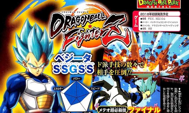 Actu Jeux Vidéo, Arc System Works, Dragon Ball Fighter Z, Leak, Playstation 4, Steam, Weekly Shonen Jump, Xbox One, Jeux Vidéo,