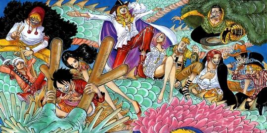 Actu Manga, Eiichiro Oda, Manga, One Piece, Shueisha, Weekly Shonen Jump,