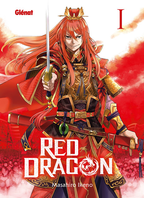 Monthly Shonen Ace, Manga, Actu Manga, Red Dragon, Masahiro Ikeno, Glénat,