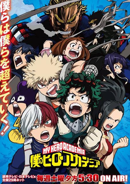 My Hero Academia Saison 3, Actu Japanime, Japanime, Bones, Kohei Horikoshi,