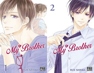 My Brother, Manga, Critique Manga, Rize Shinba, Pika Édition,