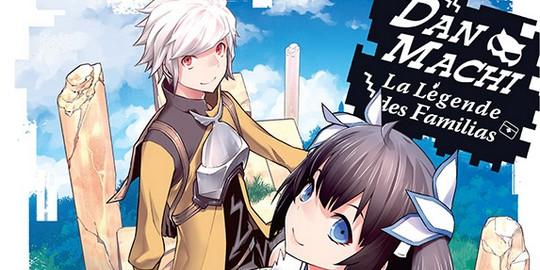 Actu Manga, DanMachi, Manga, Opération éditeur, Ototo, Shonen,
