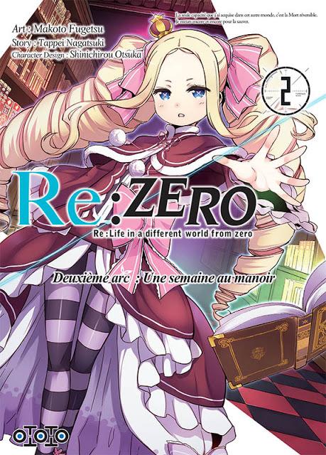 Actu Manga, DanMachi, Manga, Ototo, Re:Zero - Re:Life in a Different World From Zero, Re:Zero – Re:Life in a different world from zero – Deuxième arc : Une semaine au manoir,
