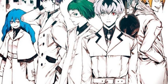 Tokyo Ghoul:re, Actu Japanime, Japanime, Sui Ishida, Odahiro Watanabe, Chuji Mikasano, Atsuko Nakajima,