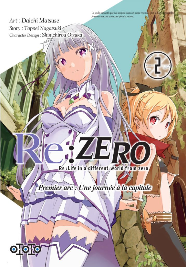 Une illustration pour l'OAV de Re:Zero – Re:Life in a Different World from Zero