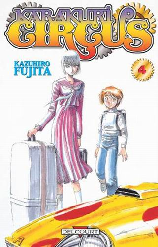 Un nouveau trailer pour l'adaptation en anime de Karakuri Circus