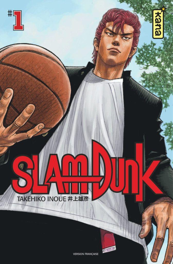 Une série de 3 posters offerte à l'achat des 20 tomes de Slam Dunk