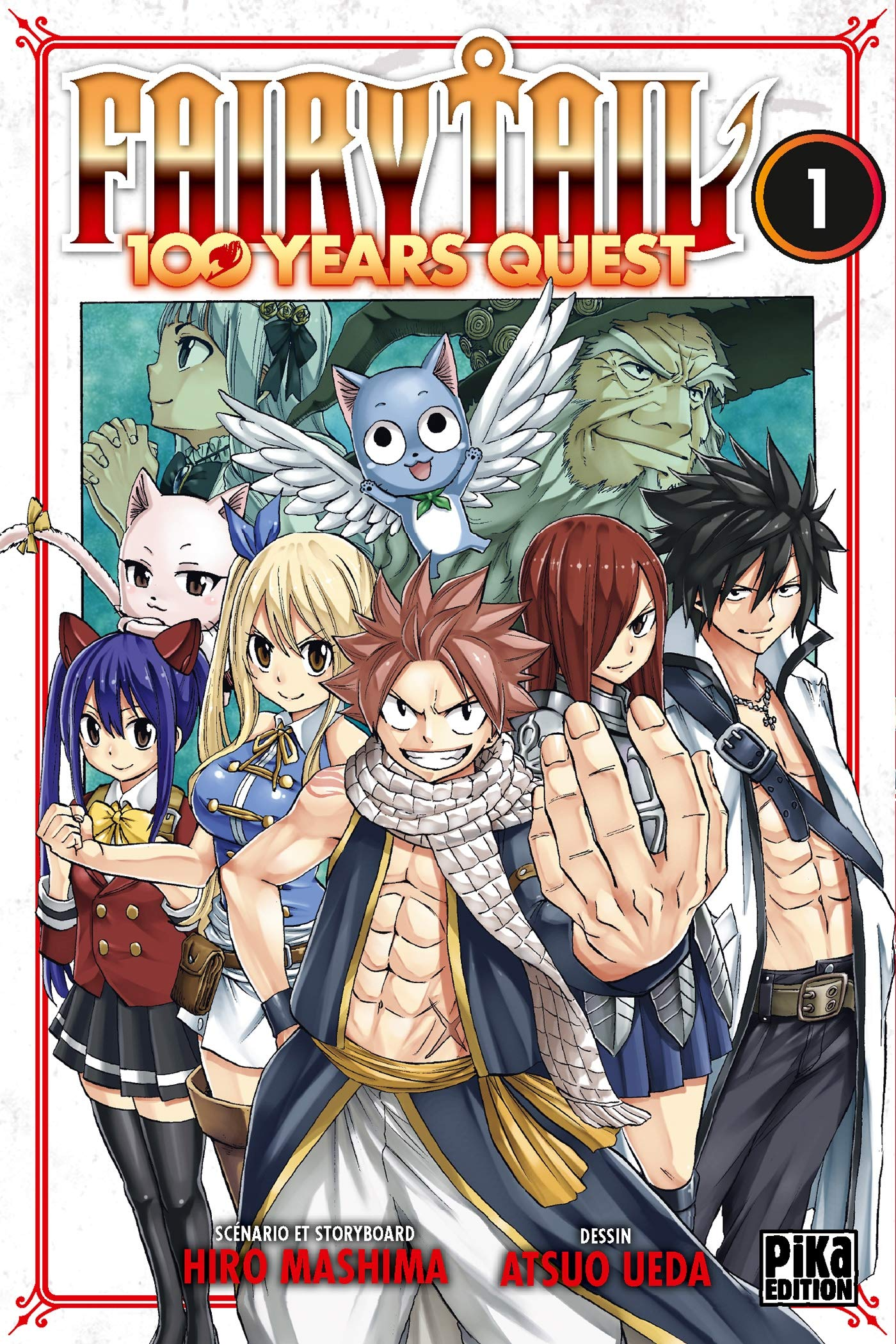 L'adaptation en anime de Fairy Tail comptera un total de 328 épisodes