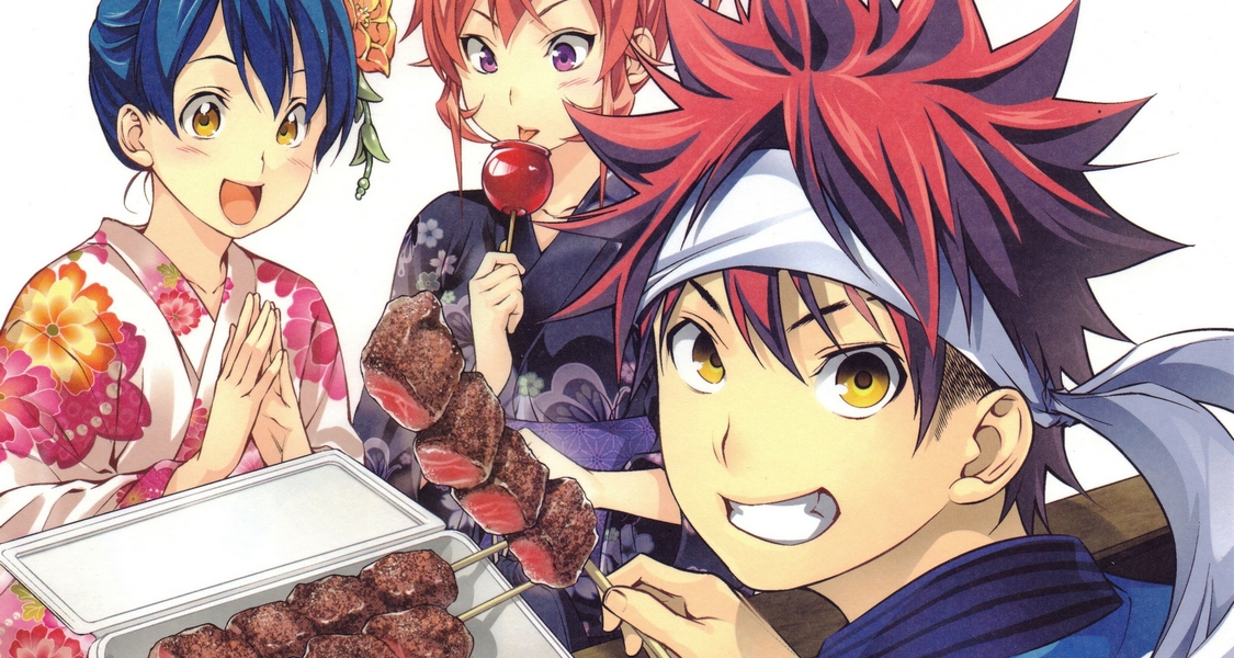 Food Wars : The Fifth Plate J.C. Staff Yuto Tsukuda Shun Saeki Crunchyroll Anime Digital Network Japanime Delcourt Tonkam