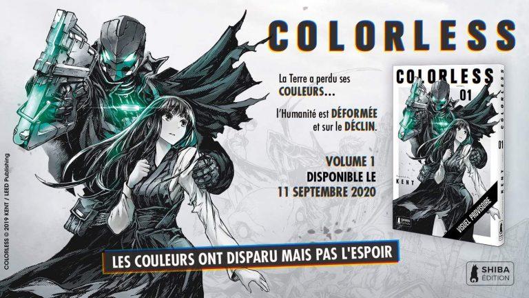 Colorless Kent Shiba Edition Manga Web Comic Border Leed