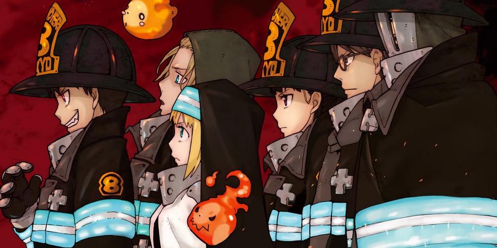 Fire Force Enen no Shôbôtai Atsushi Ohkubo Shuukan Shônen Magazine Kôdansha Manga Kana David Production Yuki Yase Gakuto Haishima Hideyuki Morioka Hideyuki Morioka Yoshito Takamine Kenichiro Suehiro Wakanim Anime Digital Network