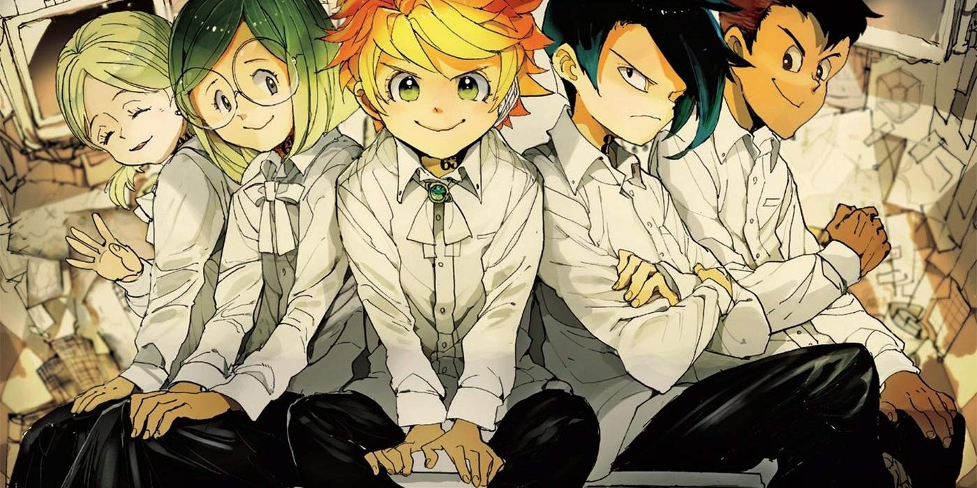 The Promised Neverland Manga Actu Manga Shueisha Weekly Shonen Jump Kazé Manga Posuka Demizu Kaiu Shirai