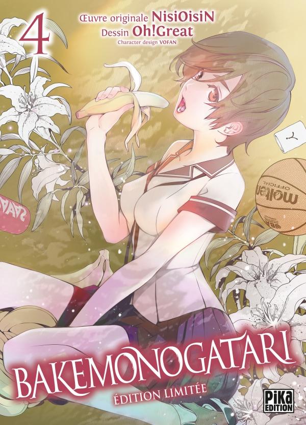 Le tome 8 de Bakemonogatari aura droit à une édition collector