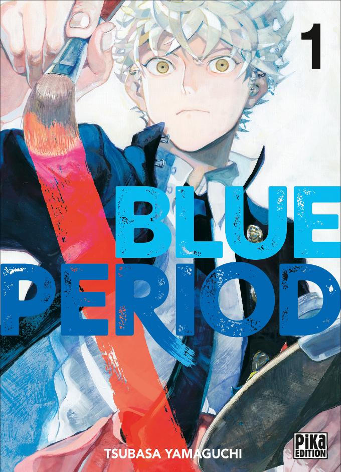 Blue Period rejoint le catalogue de Pika Edition