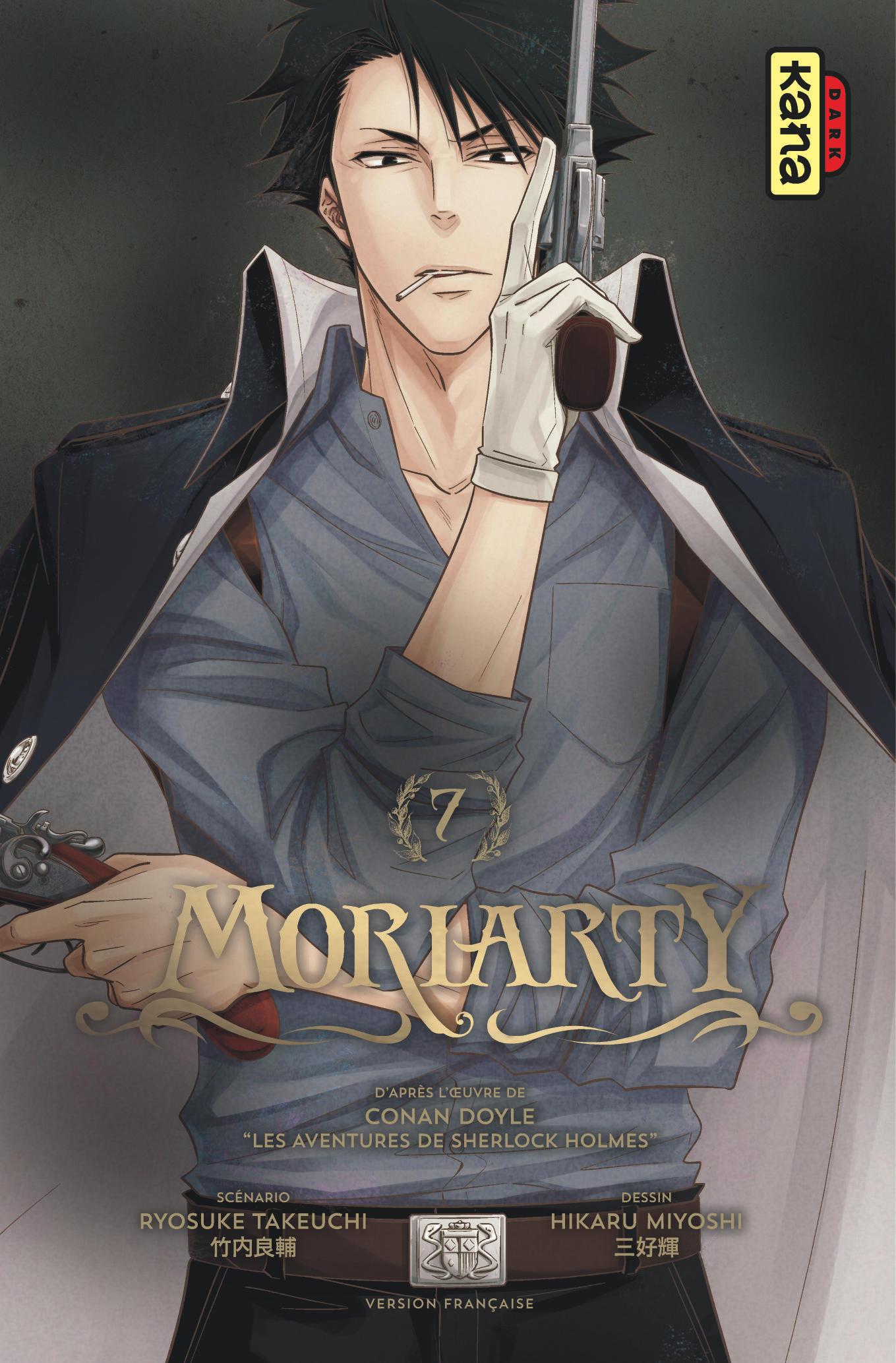 Une date de sortie pour l'adaptation en anime de Moriarty the Patriot